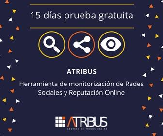 ATRIBUSHerramienta de monitorización de Redes Sociales y Reputación Online